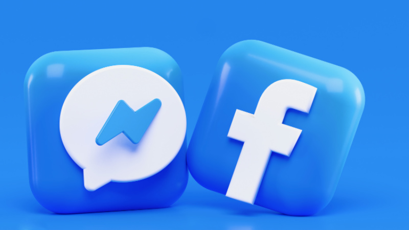 Facebook Logo with background