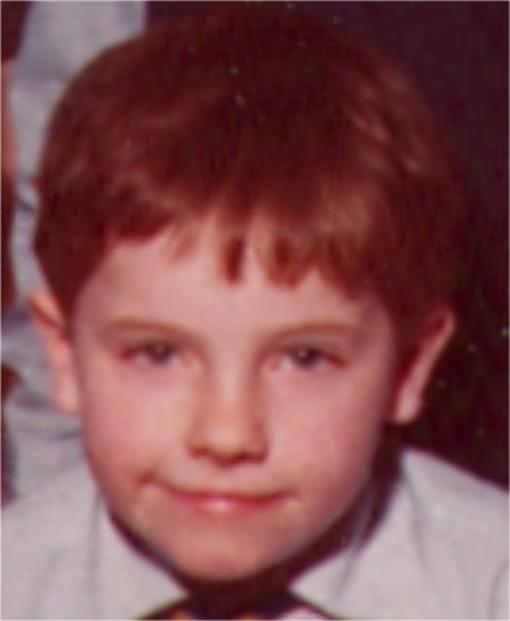 Vincent Aged 7
