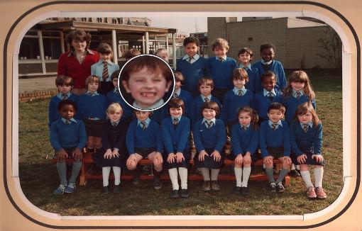 Vincent Clohessy Primary School Class Photo Circa 1980's